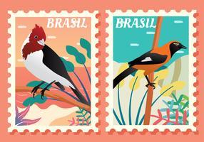 Brasil Postage  Vector Pack