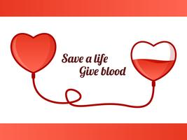 Vetores de condução de sangue pendentes