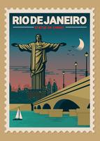 Estampilla de Brasil