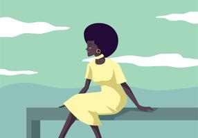 Women Of Color Vector Illustration