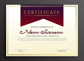 certificate of appreciation business template