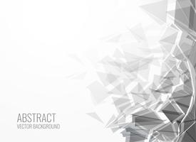 abstract triangle shape burst background