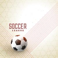 abstract football on lines background