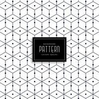 snygg geometrisk linjemönster design