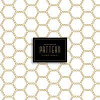 Fondo de patrón abstracto hexagonal geométrico