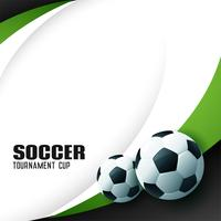 elegante voetbalachtergrond met tekstruimte