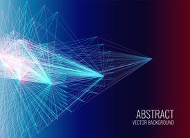 abstrakta linjer mesh vektor bakgrund