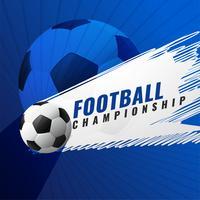fundo de jogo de torneio de campeonato de futebol