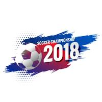 abstrakter Fußball Fußball Meisterschaft Hintergrund