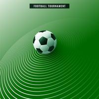 stilig grön fotbollsfotboll bakgrund