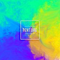 aquarelle de flux abstrait encre brillante colorée