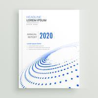 trendig kreativ affärs broschyr broschyr eller bokomslag design wit