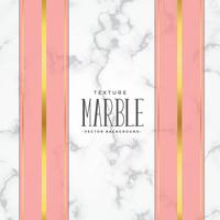 marble texture background with pink and gold stripes