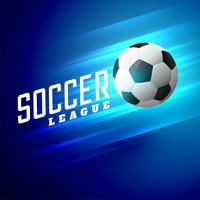 awesome shiny blue football background