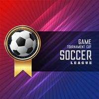 shiny football soccer background design