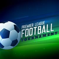 Fondo de campeonato de fútbol torneo deportivo de fútbol