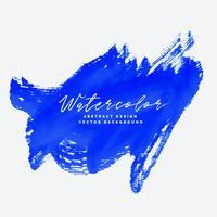 blå handmålade grungeabstrakt