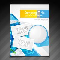 company brochure design vector