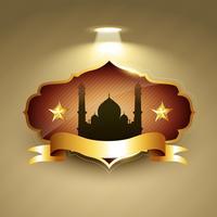 beau vecteur de ramadan kareem