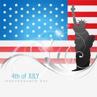 4th of july independence day vector
