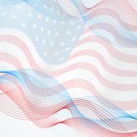 Vektor Flagge Hintergrund