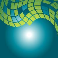 design de padrão de mosaico de vetor