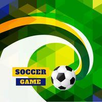 våg stil fotbollsdesign