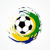 jogo de futebol de vetor