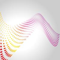 wave style design vector