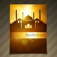 prachtige ramadan festival sjabloon