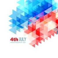 abstract 4th of july design