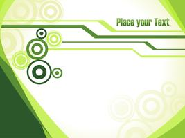 Green technology vector