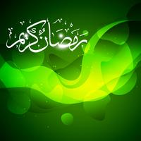 beautiful ramadan kareem vector