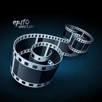 vettore film reel