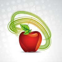 fundo de maçã de vetor