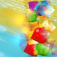 vektor abstrakt konstverk