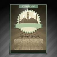 Ramadan Kareem-Broschüre