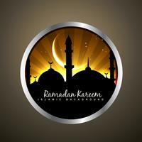 islamitische badge illustratie