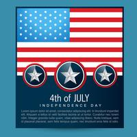 projeto da bandeira americana