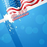 Amerikaanse vlag vector
