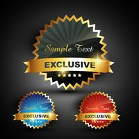 excluxive label vector