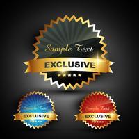 Exklusiv-Label-Vektor