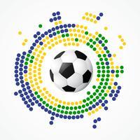 diseño de fútbol vectorial