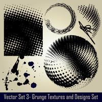 Vektor-Grunge-Set