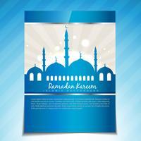 stijlvolle ramadan sjabloon