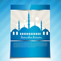 elegante modello di Ramadan