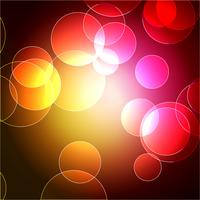 vector bokeh design