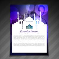 Ramadan-Broschüre-Hintergrund