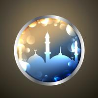 etiqueta de Ramadán Kareem
