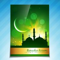 fond de brochure ramadan